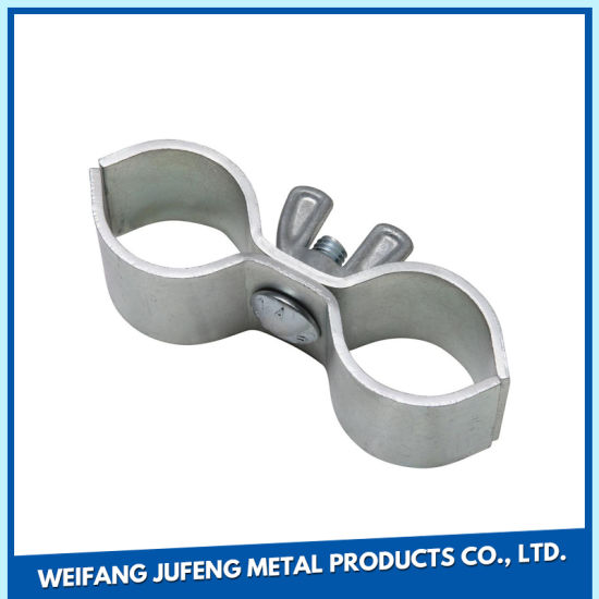 Customized Metal Stamping Parts Steel Sheet Pipe Clamp
