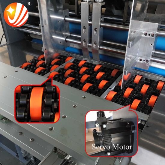 High Speed Servo Control Flute Laminating Machine pictures & photos