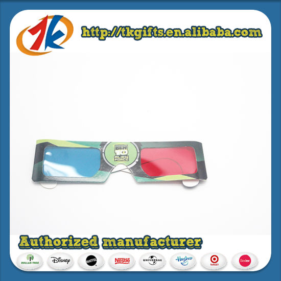 Promotional 3D Glasses Red Blue Glasses for Sales pictures & photos