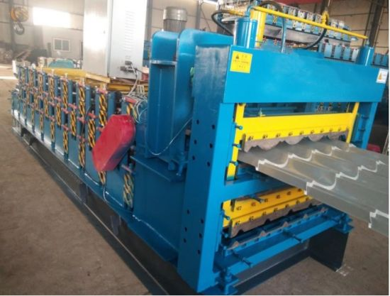 Steel Roof Tile New Arch Cold Roll Forming Machine