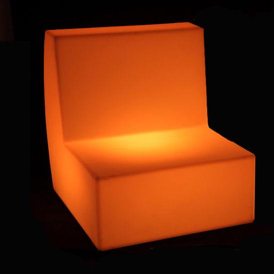 Led Light Furniture Sectional Sofas