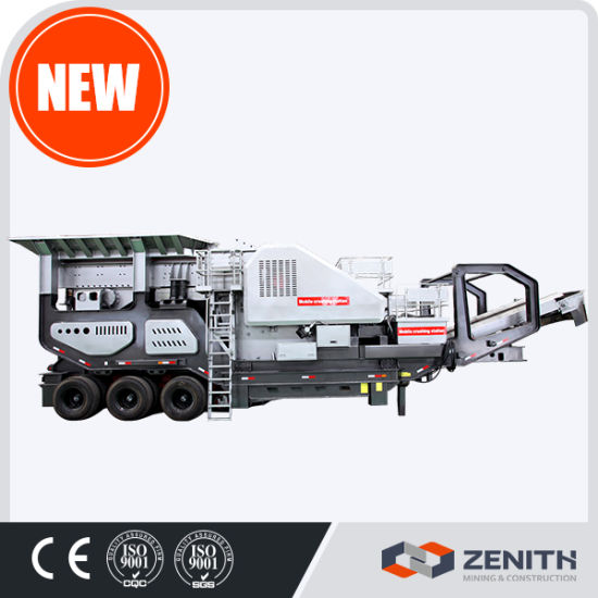 New System ISO Ce Approved Mobile Stone Crusher Plant pictures & photos