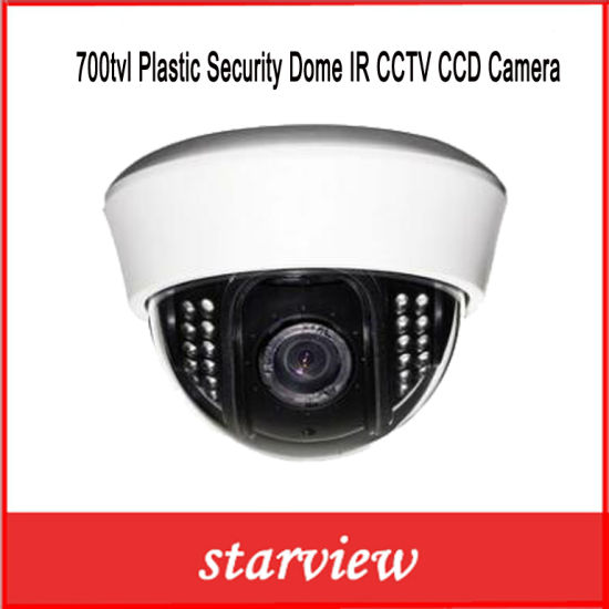 700tvl Plastic Security Dome IR CCTV CCD Camera pictures & photos