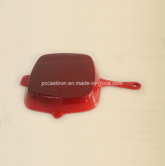 Dia 26 Enamel Cast Iron Frying Pan From China Manufacturer pictures & photos