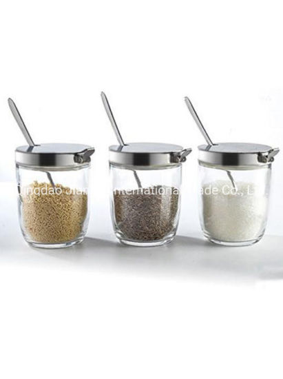 Household Setted Seasoning Glass Bottle/Glass Jar pictures & photos