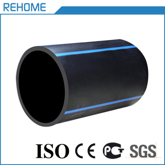 Black Color Polyethylene HDPE Water Supply Pipe 315mm Pn10