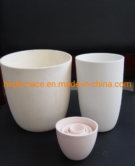 Top Level Hot Selling Alumina Ceramic Crucible for Melting, Melt Crucible Bowl Type Crucible 99 Alumina Ceramic Crucible