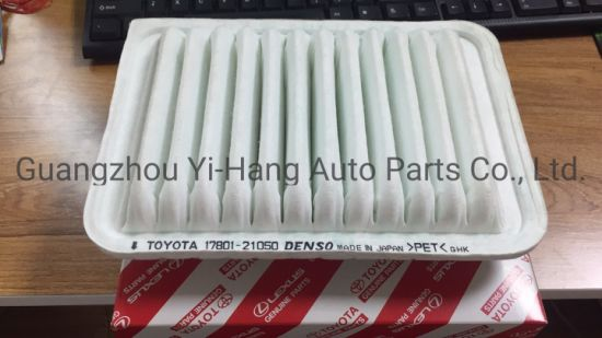 Auto Spare Part High Quality Car Engine Air Filter 17801-21050 for Toyota Yaris