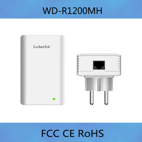 1200Mbps with PLC Powerline Video Receiver for Home or Office pictures & photos