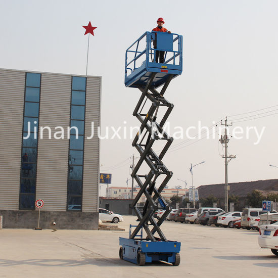 High Quality Low Price Self Propelled Scissor Lift, Durable Hydraylic Man Lift Price