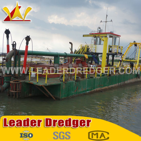 China Top Rank Leader Brand 10 Inch Cutter Suction Dredger Equipment