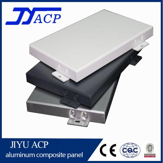 Exterior Metal Aluminum Solid Panel Aluminum Single Panel for Curtain Wall
