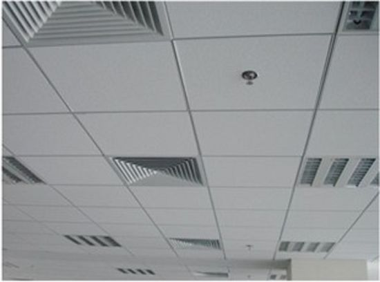 China 6mm 12mm Thickness Mineral Fiber Board Acoustic Ceiling
