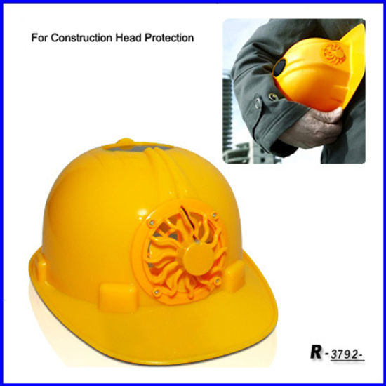 Solar Power Safety Fan Cap for Construction Head Protection