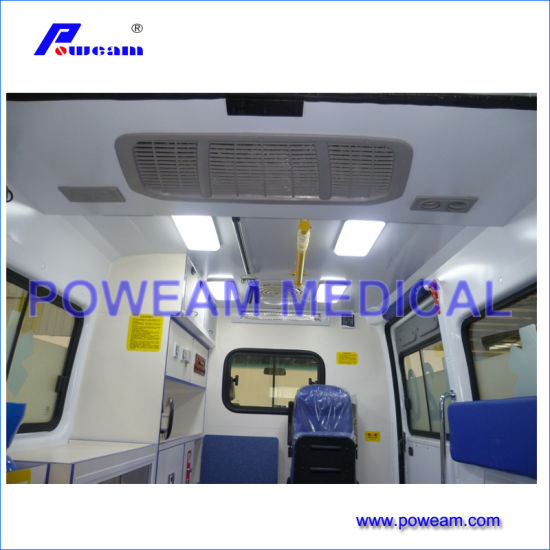 Foton Right Hand Drive Hospital First Aid Ambulance Car pictures & photos
