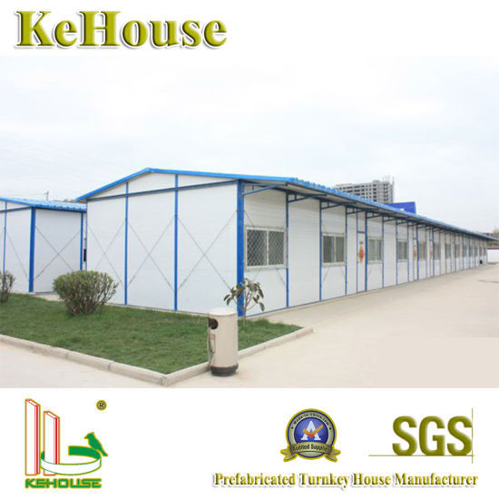 Mauritius Light Steel Keel Manufactured Prefabricated House pictures & photos