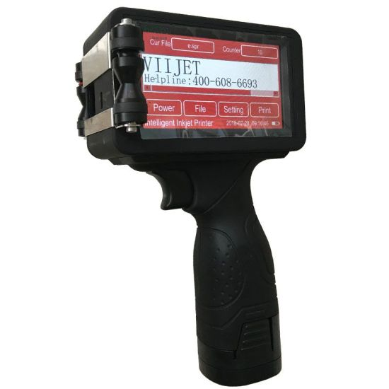 V3/V5/V6/V6+/V7 Optional Handheld Printer Smart Ink Jet /Handheld Inkjet Printer for Date &Barcode Printing