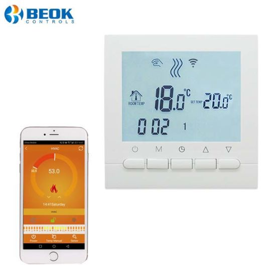 China Household Gas Heating Wall Hung Boiler Thermostat Smart Cell ...