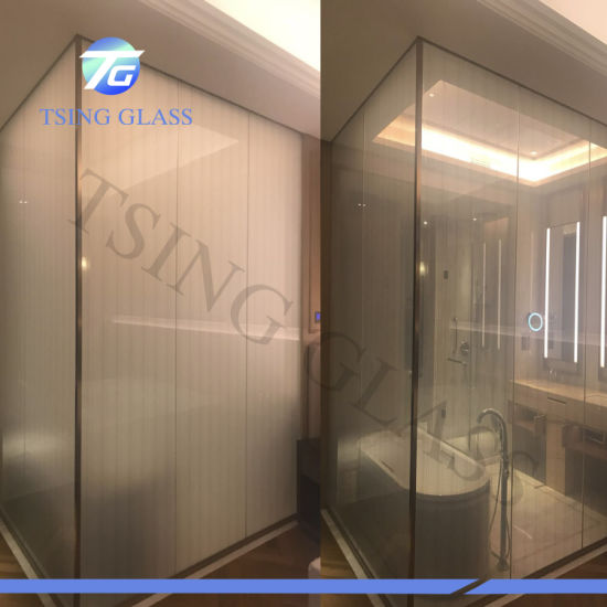 Pdlc Privacy Glass/Smart Film/Smart Glass/Self Adhesive Smart Film for Doors/Windows/Office pictures & photos
