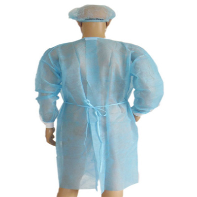 Non Woven Isolation Gown PP Nonwoven
