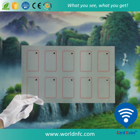 Factory Price A4 Sheets RFID Smart Card Inlay pictures & photos