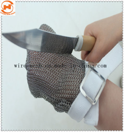 Anti-Cut Chainmail Ring Mesh Gloves