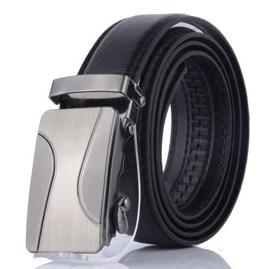 Men's Automatic Buckle Recreational PU Leather Cheap Belts
