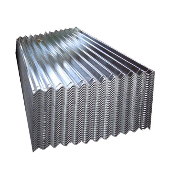 Zinc Coated Corrugated Galvanized Steel Roofing Sheet
