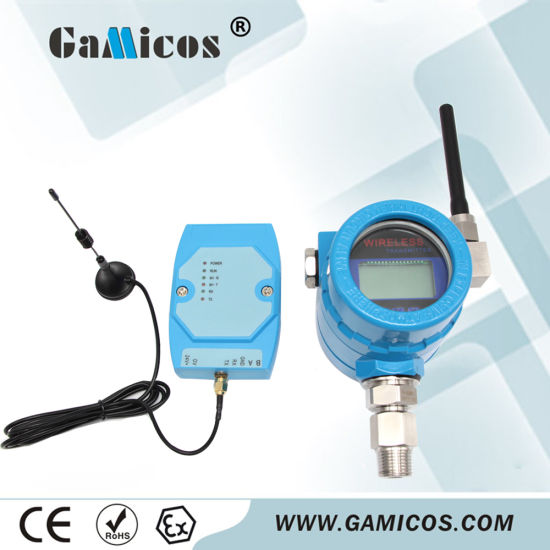 Battery Wireless Tank Pressure Transmitter with Display