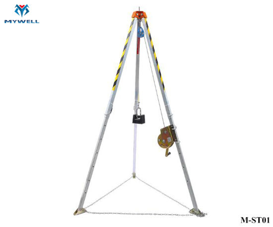 M-St01 Hot Sale Confined Space Rescue Safety Tripods and Winch pictures & photos