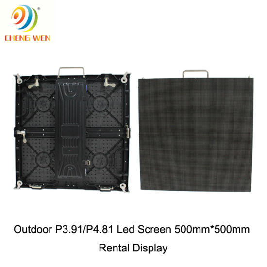 Indoor Die-Cating Aluminum Cabinet 960X960mm P3.33 LED Screen for Rental