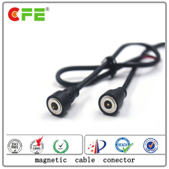 DC 12V Laser Machine Waterproof Magnetic USB Cable Connector pictures & photos