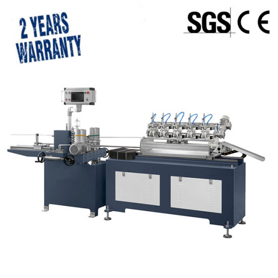 High Speed Paper Drinking Straw Making Machine Environment Friendly