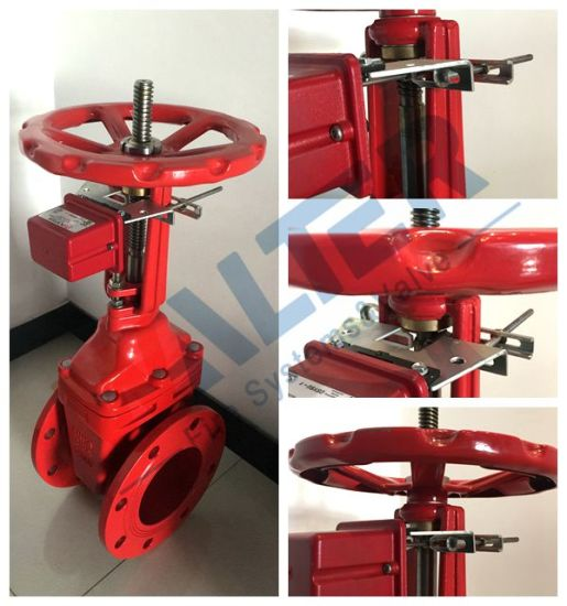China Os Y Gate Valve With Supervisory Tamper Switch China Os Y