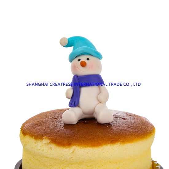 China Popular Handmade Polymer Clay Christmas Stocking Gifts