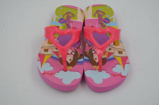 Adults and Children Sublimation Flip Flops Slippers pictures & photos
