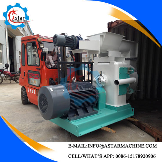 1t/H Ring Die Sawdust Pellet Making Machine pictures & photos