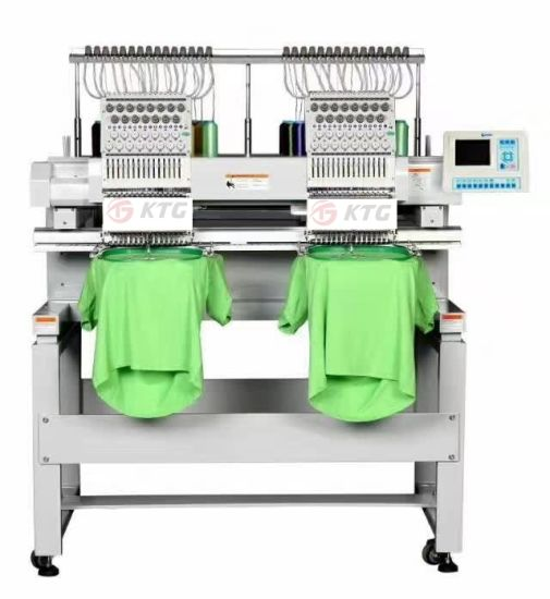 China Two Heads Embroidery Machine Computer Embroidery