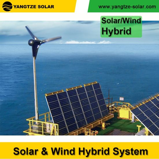 Yangtze 5kw Solar Power and Wind Hybrid System pictures & photos