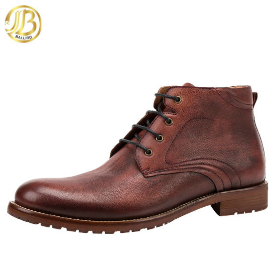 China Men Shoes and Leather Shoes Boots