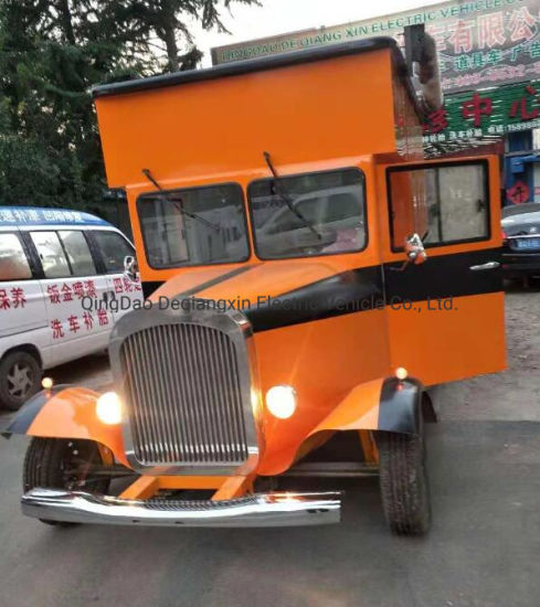 Outdoor Fast Mobile Street Food Kiosk Cart Design for Sale