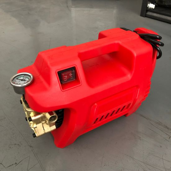 Red Good Quality Competitive Price High Pressure Cleaning Machine