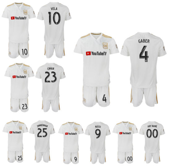 free shipping 6d381 d3638 2019 Lafc Soccer Jersey Away Los Angeles FC Football Shirt