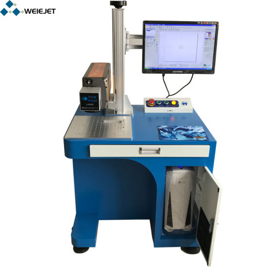 Factory Price CO2 Laser Machine Laser Marking/Printing/Engraving Machine for Plastic Tag/Label