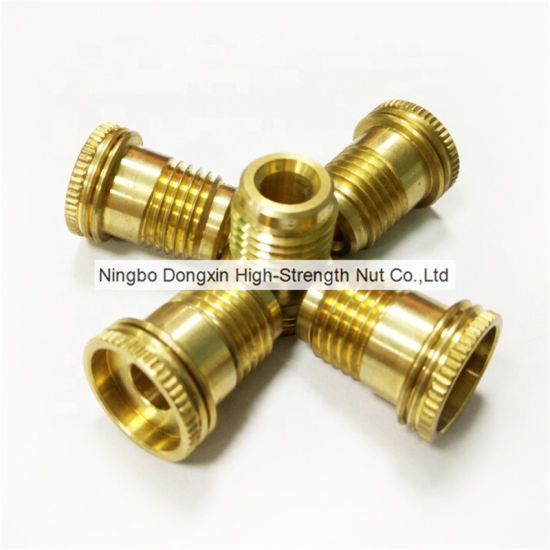 Custom Made Stainless Steel Copper Straight Flared Tube Female Male Threaded Pipe Brass Fitting pictures & photos