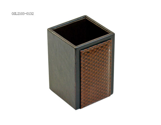 PU Leather Portable Storage Box, Durable Household Product Laundry Box, Hotel Suppiles