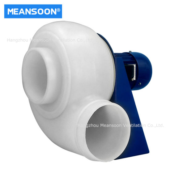 Plastic Anti-Corrosion Centrifugal Fan for Exhaust Ventilation