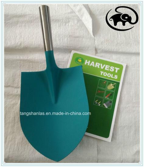 Steel Shovel Head Polished Neck Agricultural Tool