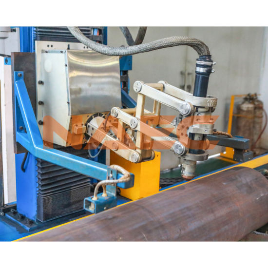 "Five-Axis CNC Flame/ Plasma Pipe Cutting/ Profiling Machine 12-48"""