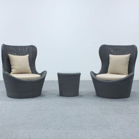 Synthetic Rattan Garden Sofa Hotel Furniture